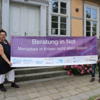 Albrecht Jax und Ulrike Radke-Voss machen auf die prekäre Situation aufmerksam